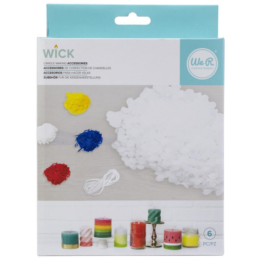 We R Memory Keepers - We R Wick Candle Wax & Wick Bundle
