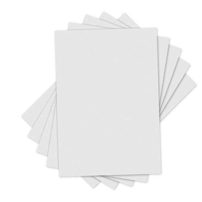 Sizzix Inksheets Transfer Film - White 4'X6' (5 Pack)