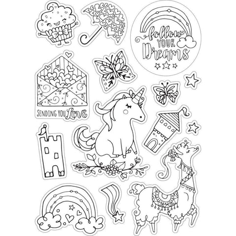 Sizzix Coloring Stickers By Katelyn Lizardi Follow Your Dreams