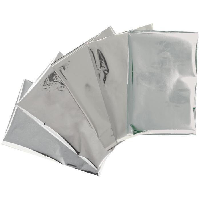 We R Memory Keepers - Heatwave Foil Sheets 4X6 Inch 30 /Pk - Silver *