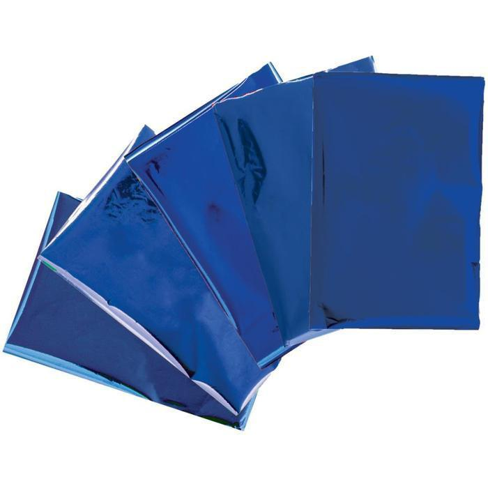 We R Memory Keepers - Heatwave Foil Sheets 4X6 Inch 30 /Pk - Blue *