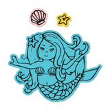 Sizzix Framelits Die & Stamp Set By Jen Long - Mermaid
