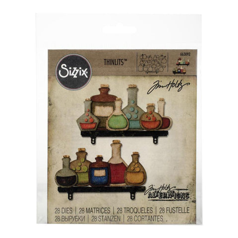 Sizzix - Thinlits Dies By Tim Holtz - Laboratory