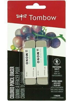 Tombow Mono Sand Eraser 2 Pack  Grey