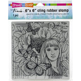 Stampendous Cling Stamps - Butterfly Beauty