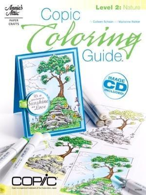 Copic Colouring Guide - Level 2 Nature By Marianne Walker (Incl Cd)