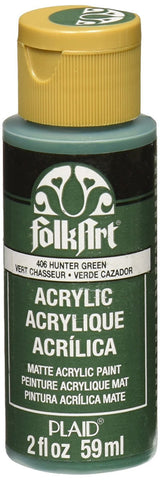 FolkArt Enamel Paint 2oz - Hunter Green