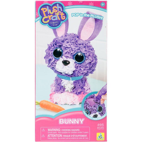 PlushCraft Fabric Fun 3D Kit - Bunny