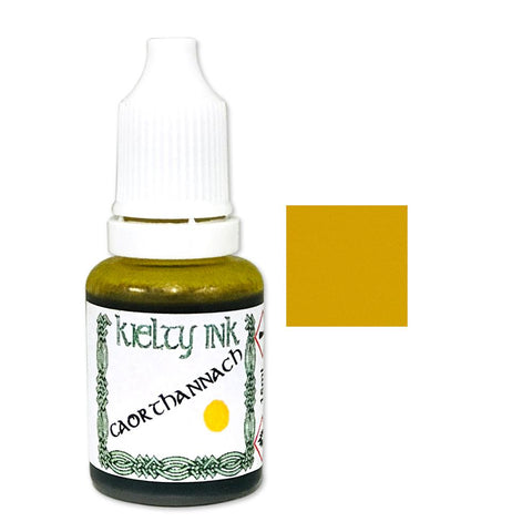 Kielty Inks - Alcohol Ink 15ml - Caorthannach (Yellow)