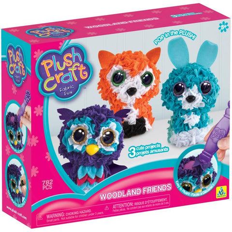 Plushcraft Fabric Fun Kit - Woodland Friends