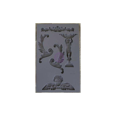 Prima Marketing - Iron Orchid Designs Vintage Art Decor Mould 5inch X8inch Baroque #5