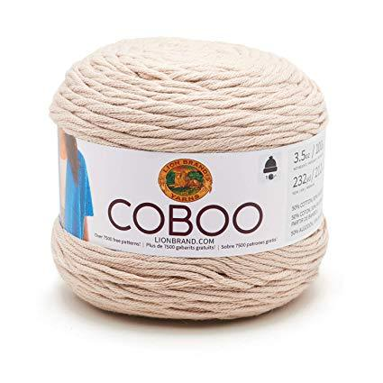 Lion Brand Coboo - Tan 100g