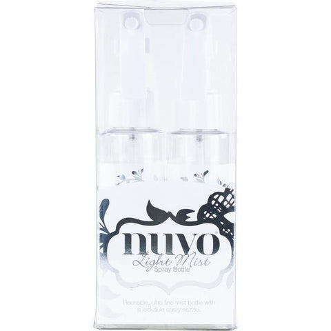 Nuvo - Light Mist Spray Bottles - Twin Pack 100Ml Ea.