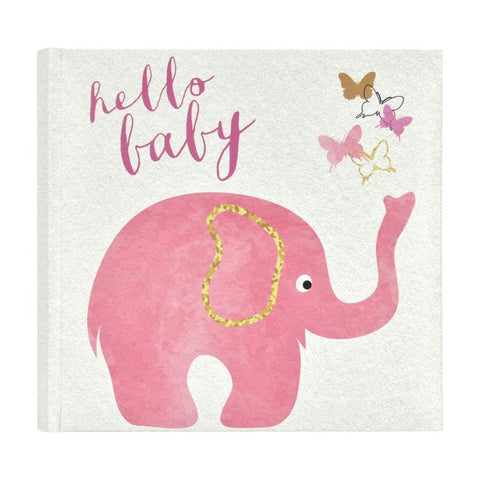 MBI 2-Up Photo Album 9.5x8.5inch - Pink Elephant