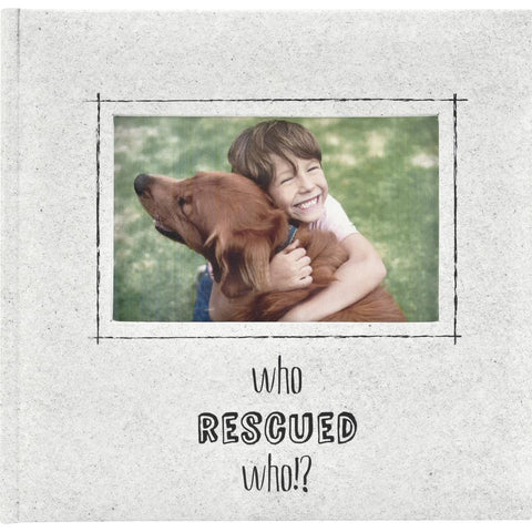 MBI 2-Up Photo Album 9.5x8.5inch - Who Rescued Who?