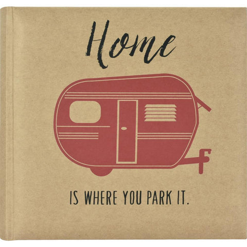 MBI 2-Up Photo Album 9.5x8.5inch - Home Is Where You Park It.