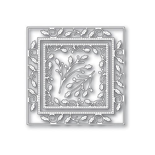 Memory Box Die Design - Elegant Holly Double Frame