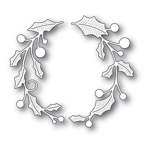 Memory Box - Dies - Holly Double Arch