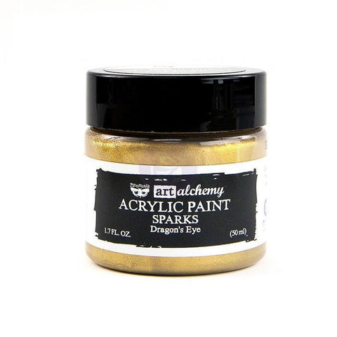 Prima Marketing - Finnabair Art Alchemy Sparks Acrylic Paint 1.7 Fluid Ounces Dragons Eye