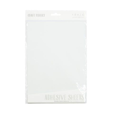 Craft Perfect - Double-Sided A4 Adhesive Sheets 5 pack