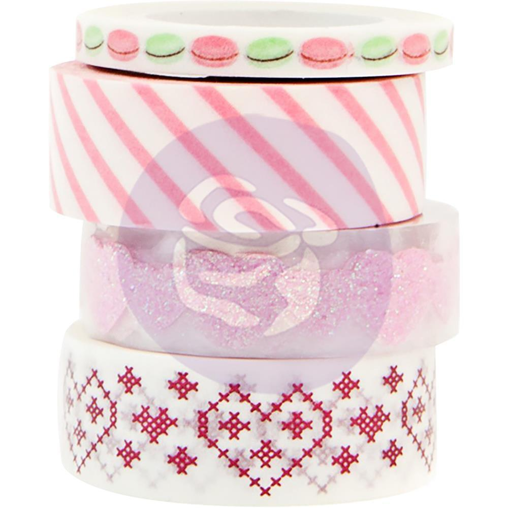 Prima Marketing - Santa Baby Decorative Tape 4 pack 5mm To 15mm, 10 Yards Each