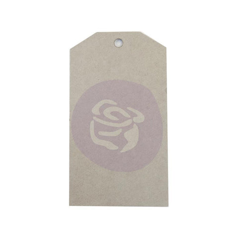 Prima Memory Hardware Adhesive Chipboard Tags 12 pack
