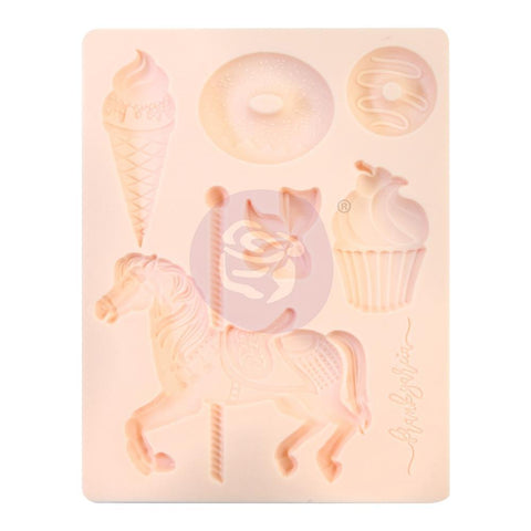 Prima Marketing - Decor Mold 3.5inch X4.5inch X8mm - Dulce By Frank Garcia
