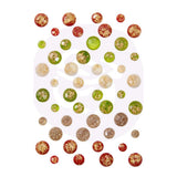 Prima Marketing - Christmas In The Country - Say It In Crystals Assorted Dots 48 pack