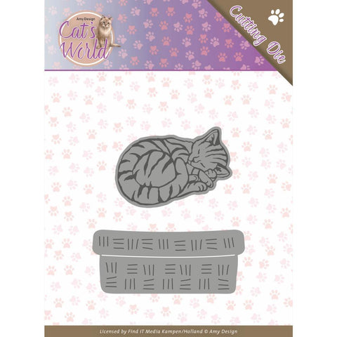 Find It Trading Amy Design - Cat's World Die - Sleeping Cats