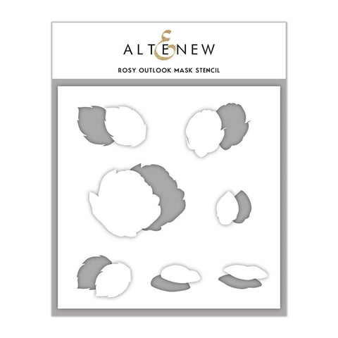 Altenew Mask Stencil 6x6 inch - Rosy Outlook