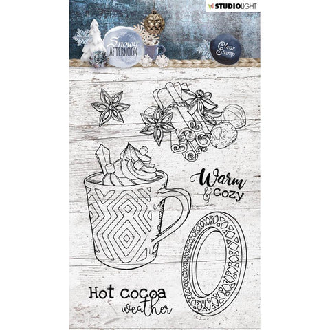 Studio Light - Snowy Afternoon Clear Stamps NR. 396