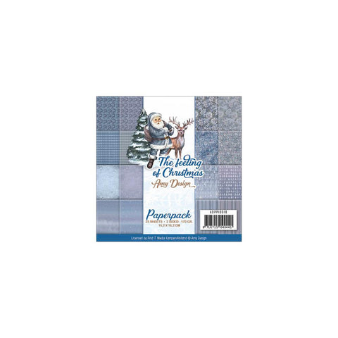 Find It Trading Amy Design Double-Sided Paper Pack 6in x 6in  23 pack - The Feeling Of Christmas
