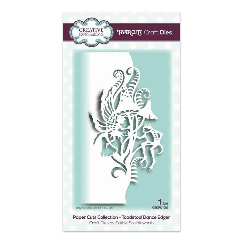 Creative Expressions-Paper Cuts Collection-Toadstool Dance Edger Craft Die
