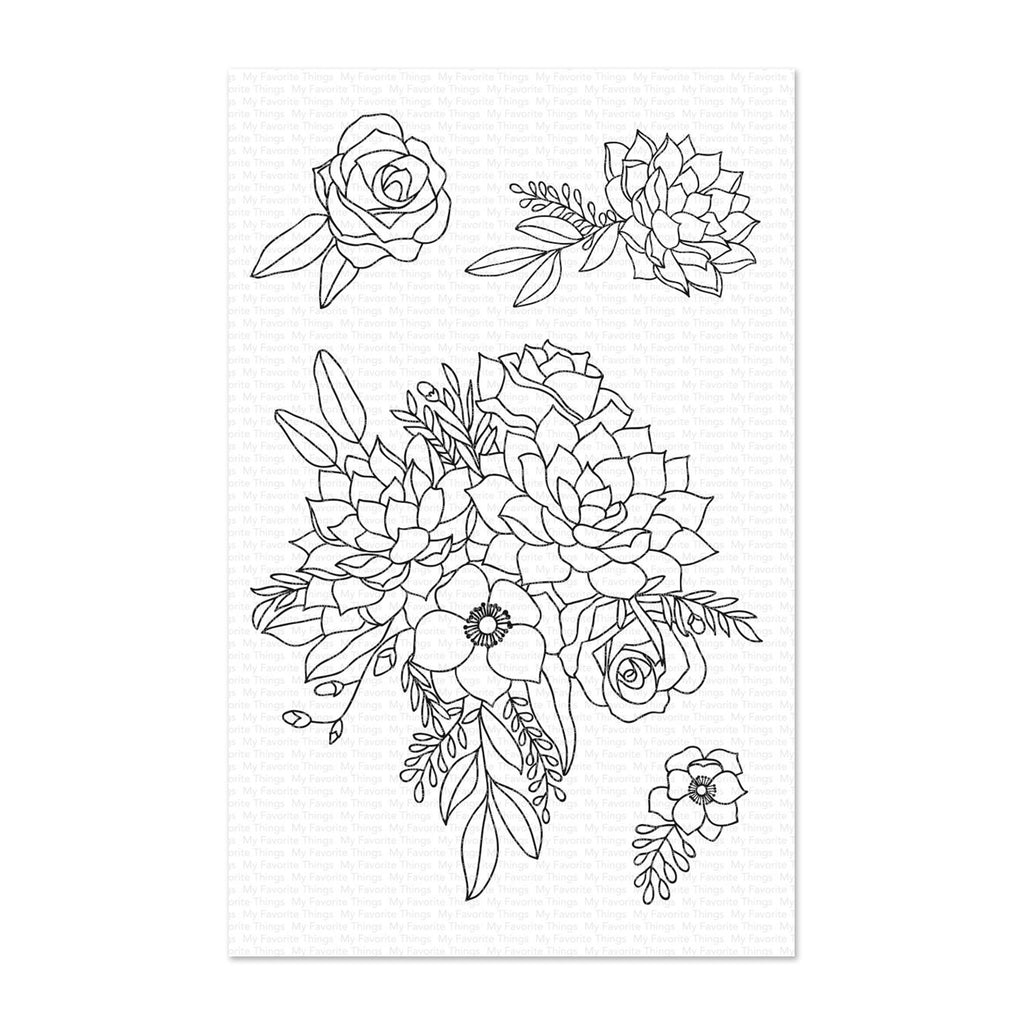 My Favorite Things Clear Stamps - Fantasy Florals