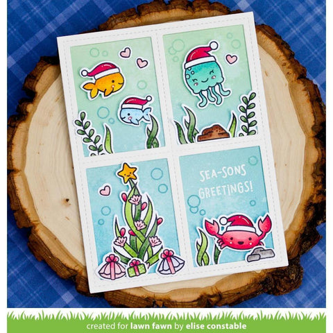 Lawn Cuts - Custom Craft Die - Christmas Fishes