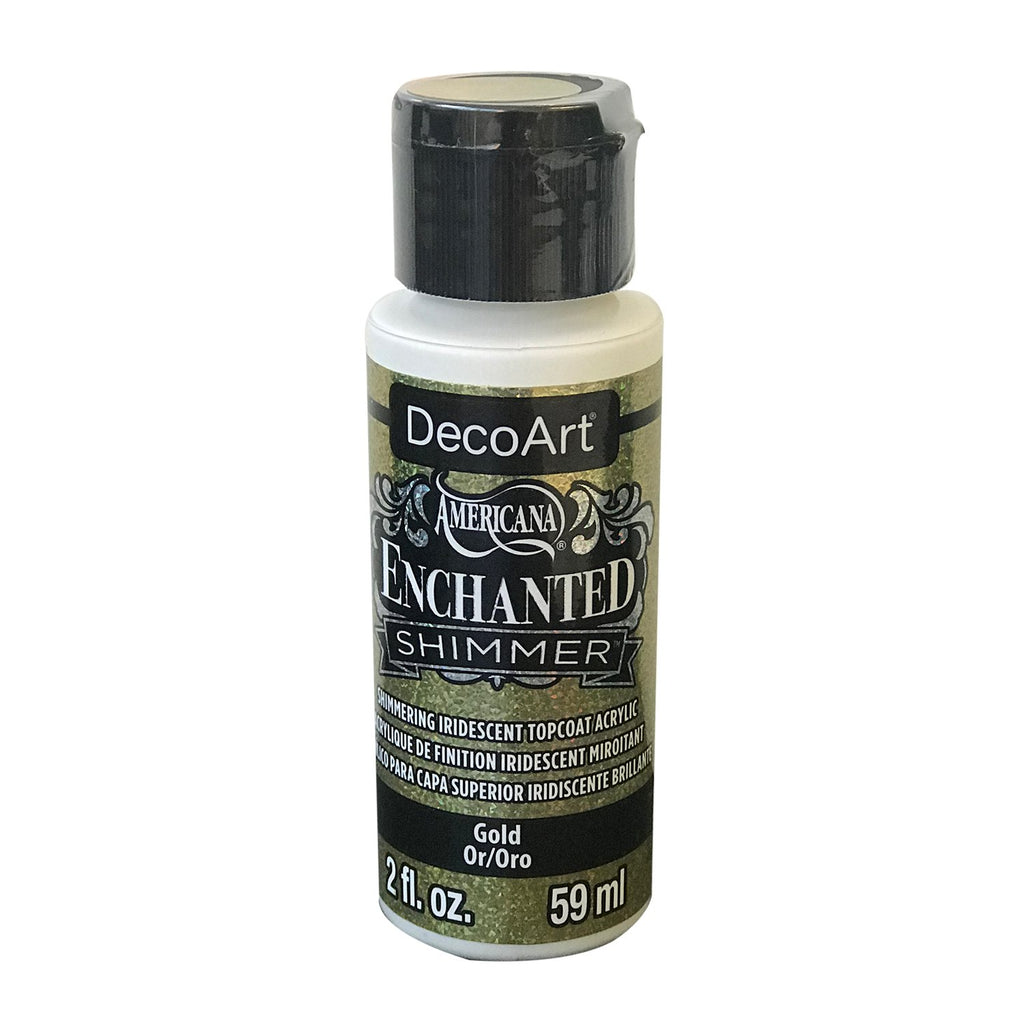 Americana Enchanted Shimmer Paint 2oz - Gold