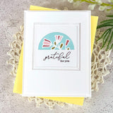 Pinkfresh Studio Essentials Die - Set Teardrop Tag with Fillable Elements