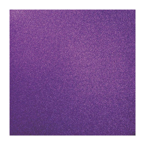 Kaisercraft - Glitter Cardstock 12in x 12in - Amethyst