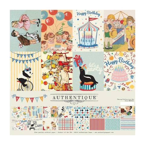 Authentique Collection Kit 12in x 12in  Hooray