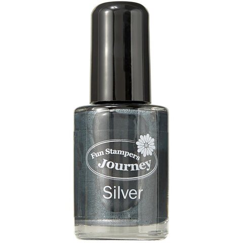 Spellbinders Silks Ink .5oz - Silver