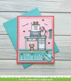Lawn Cuts Custom Craft Die - A Little Note Line Border