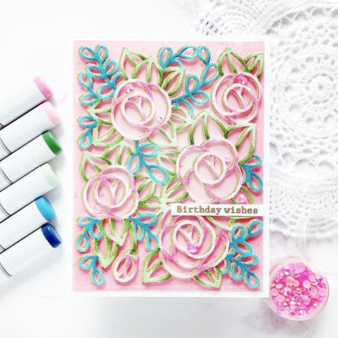 Pinkfresh Studio Die - Modern Bloom