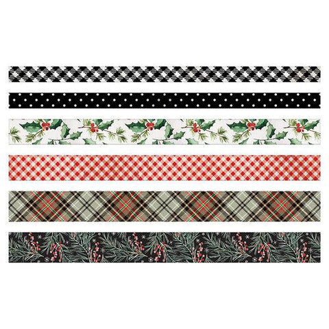 Tim Holtz - Idea-Ology Design Tape 6 pack - Christmas