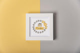 Sizzix - Framelits Die Set by Sophie Guilar 7 pack with Stamps - Celebration Phrases