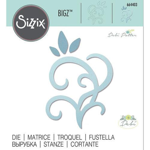 Sizzix - Bigz Die - Leaves & Swirls by Debi Potter