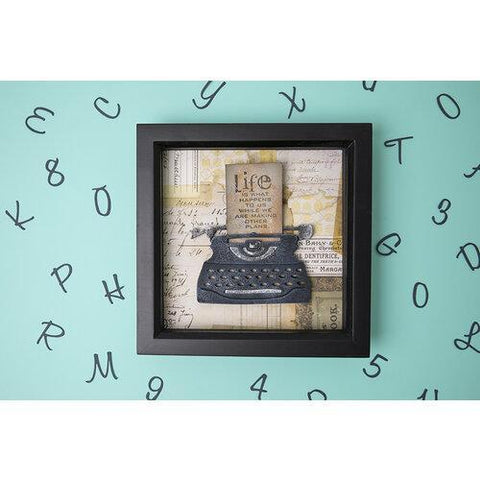 Sizzix - Bigz Die – Retro Type by Tim Holtz