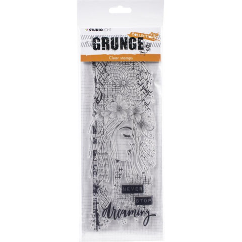 Studio Light Grunge 3.0 Collection A4 Stamp - NR. 402