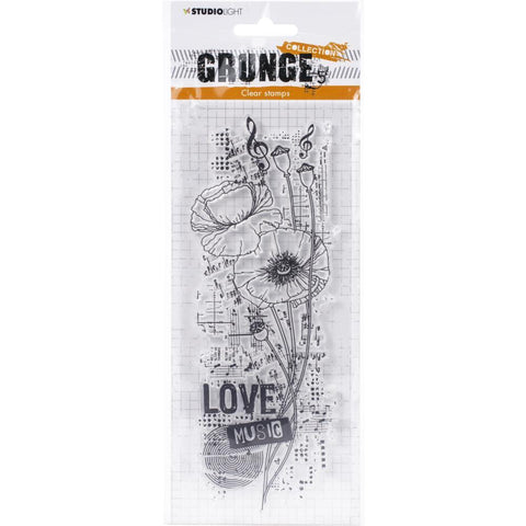 Studio Light Grunge 3.0 Collection A4 Stamp - NR. 404