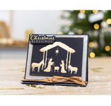Crafter's Companion - Gemini Foilpress Stamp Die Elements - Nativity Scene