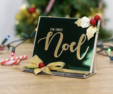 Crafter's Companion - Gemini Foilpress Stamp Die Expressions - The First Noel